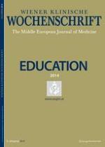 Wiener klinische Wochenschrift Education 1-4/2014