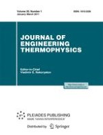 Journal of Engineering Thermophysics 1/2011