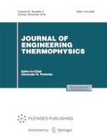 Journal of Engineering Thermophysics 4/2018
