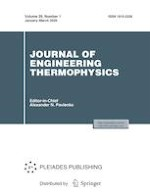 Journal of Engineering Thermophysics 1/2020