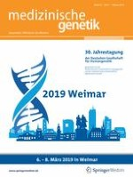 medizinische genetik 1/2019