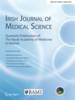 Irish Journal of Medical Science (1971 -) 1/2018