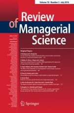 Review of Managerial Science 3/2016