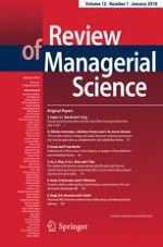 Review of Managerial Science 1/2018