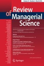 Review of Managerial Science 2/2018