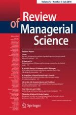 Review of Managerial Science 3/2018