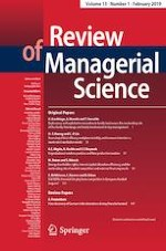 Review of Managerial Science 1/2019