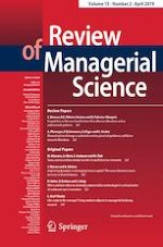 Review of Managerial Science 2/2019