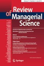 Review of Managerial Science 3/2019