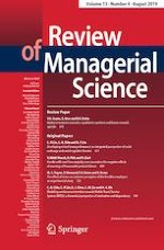 Review of Managerial Science 4/2019