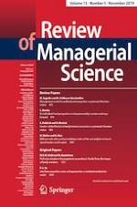 Review of Managerial Science 5/2019