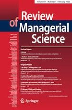 Review of Managerial Science 1/2020