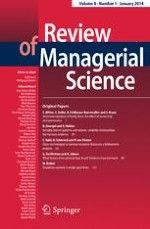 Review of Managerial Science 1/2014