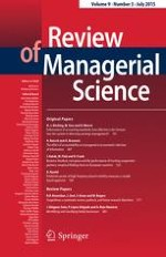Review of Managerial Science 3/2015