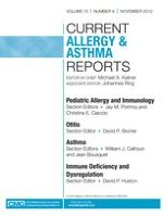 Current Allergy and Asthma Reports 6/2010