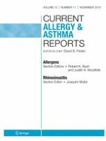 Current Allergy and Asthma Reports 11/2015