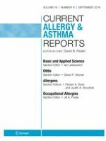 Current Allergy and Asthma Reports 9/2016