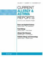 Current Allergy and Asthma Reports 12/2017