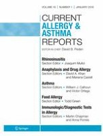 Current Allergy and Asthma Reports 1/2018