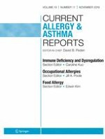 Current Allergy and Asthma Reports 11/2019