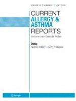 Current Allergy and Asthma Reports 7/2019