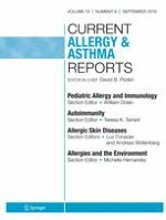 Current Allergy and Asthma Reports 9/2019