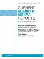 Current Allergy and Asthma Reports 1/2020