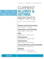 Current Allergy and Asthma Reports 10/2020