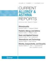 Current Allergy and Asthma Reports 11/2020