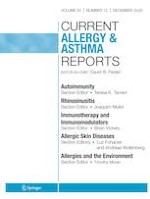 Current Allergy and Asthma Reports 12/2020