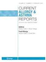 Current Allergy and Asthma Reports 2/2020