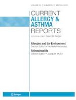 Current Allergy and Asthma Reports 3/2020