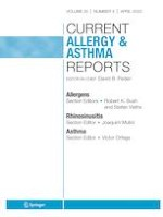 Current Allergy and Asthma Reports 4/2020