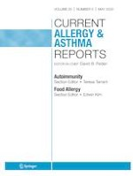 Current Allergy and Asthma Reports 5/2020