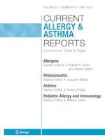 Current Allergy and Asthma Reports 6/2020