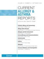 Current Allergy and Asthma Reports 9/2020