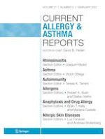 Current Allergy and Asthma Reports 2/2021