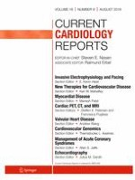 Current Cardiology Reports 8/2016