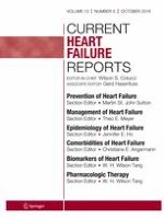 Current Heart Failure Reports 5/2016
