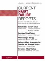Current Heart Failure Reports 6/2017