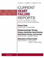 Current Heart Failure Reports 1/2018
