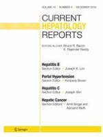Current Hepatology Reports 4/2016