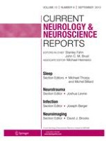 Current Neurology and Neuroscience Reports 2/2001