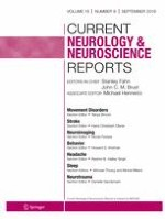 Current Neurology and Neuroscience Reports 9/2019