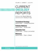 Current Oncology Reports 7/2016