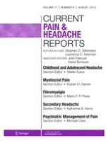 Current Pain and Headache Reports 6/2006