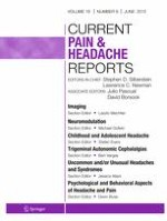Current Pain and Headache Reports 6/2015