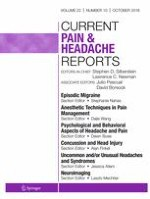 Current Pain and Headache Reports 10/2018