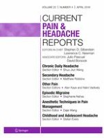 Current Pain and Headache Reports 4/2018