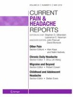 Current Pain and Headache Reports 5/2018